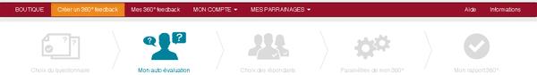 360 feedback en ligne - Faire son auto-évaluation